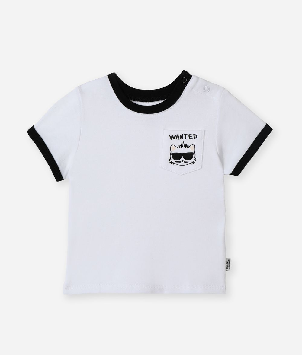 KARL LAGERFELD Bad Boy Pocket T-Shirt Kids' T-Shirt Man f
