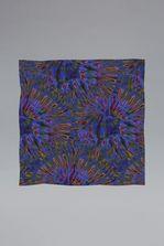 DSQUARED2 Silk & Woven Tie And Dye Rock Foulard  Foulard Man