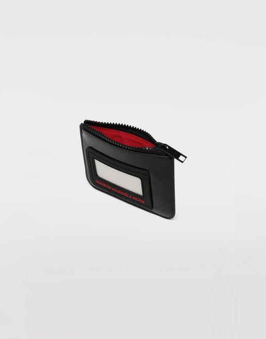 MAISON MARGIELA Logo insert zip leather wallet Wallets [*** pickupInStoreShippingNotGuaranteed_info ***] d