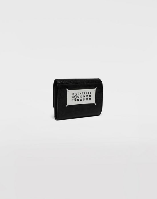MAISON MARGIELA Chain textured leather wallet Wallet [*** pickupInStoreShippingNotGuaranteed_info ***] r