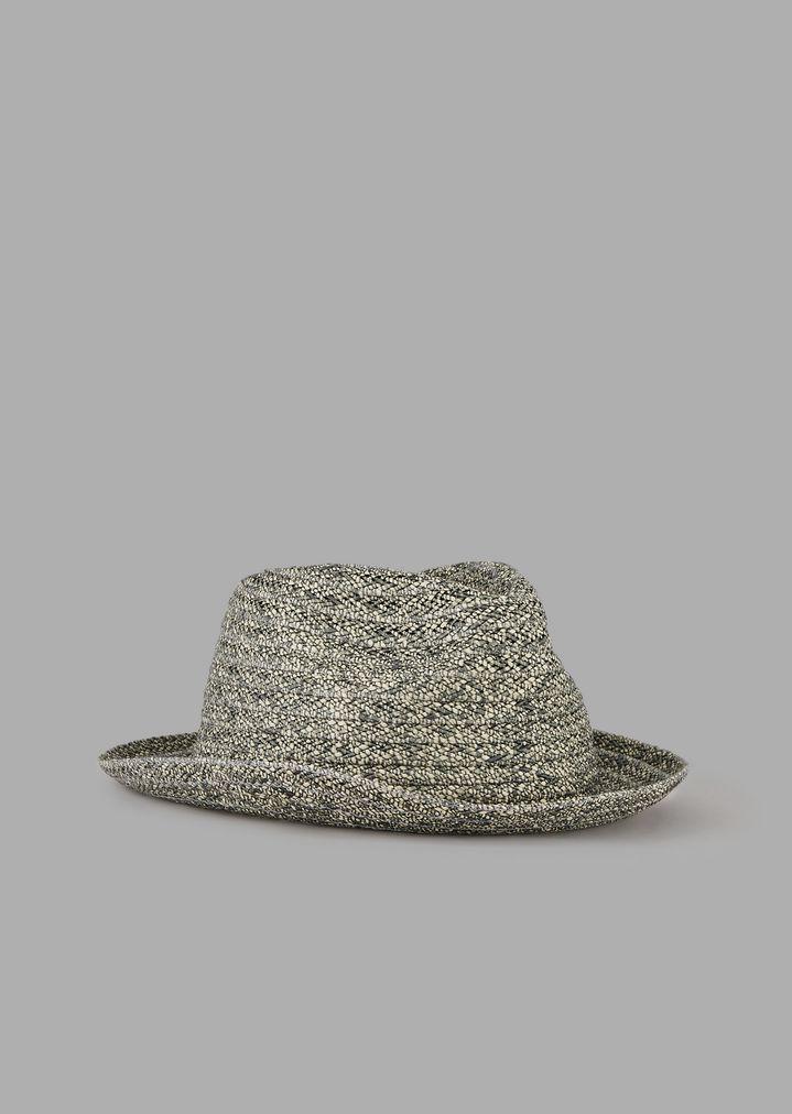 6489f701408c6 Woven straw fedora hat
