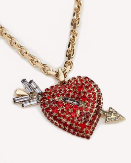 REDValentino HEART ARROW NECKLACE