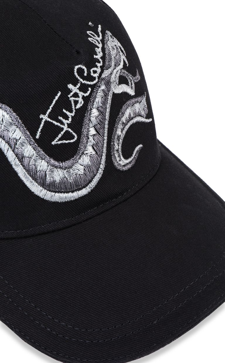 JUST CAVALLI Baseball cap with snake Hat Woman d