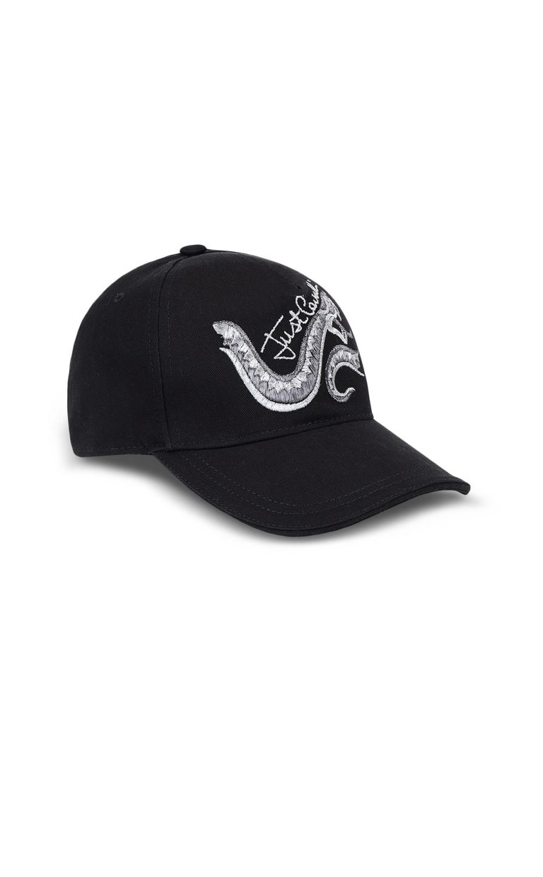 JUST CAVALLI Baseball cap with snake Hat [*** pickupInStoreShipping_info ***] f