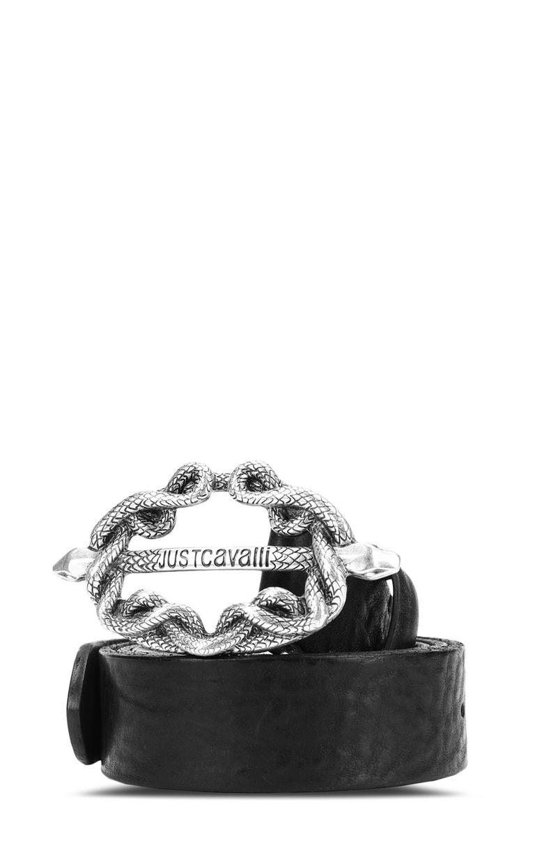 JUST CAVALLI Snake-buckle belt Belt Man f