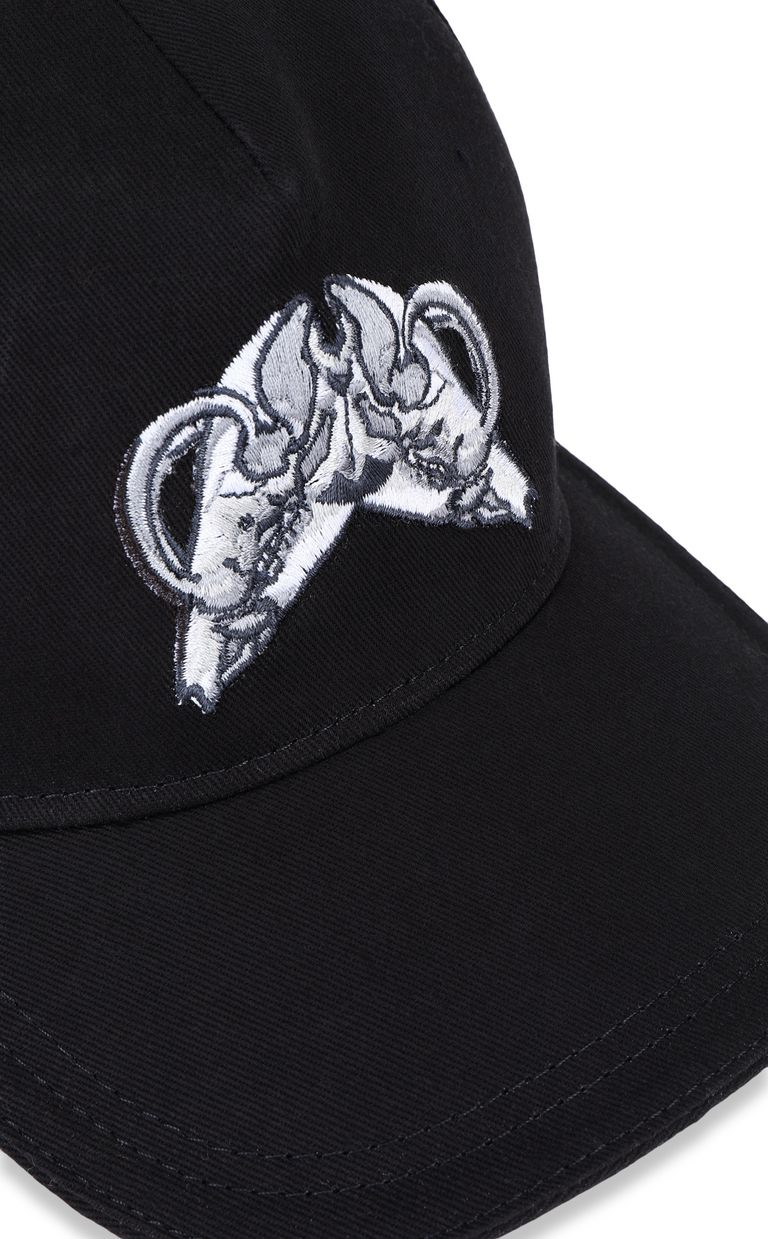 JUST CAVALLI Baseball cap with skull Hat Man d