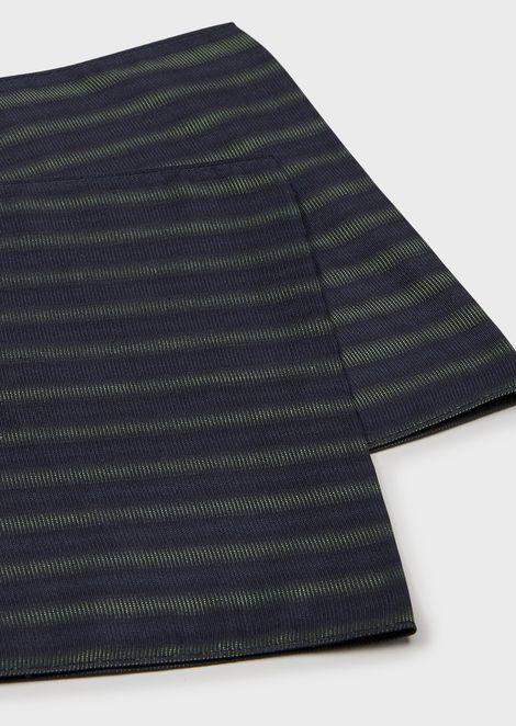 Silk foulard necktie