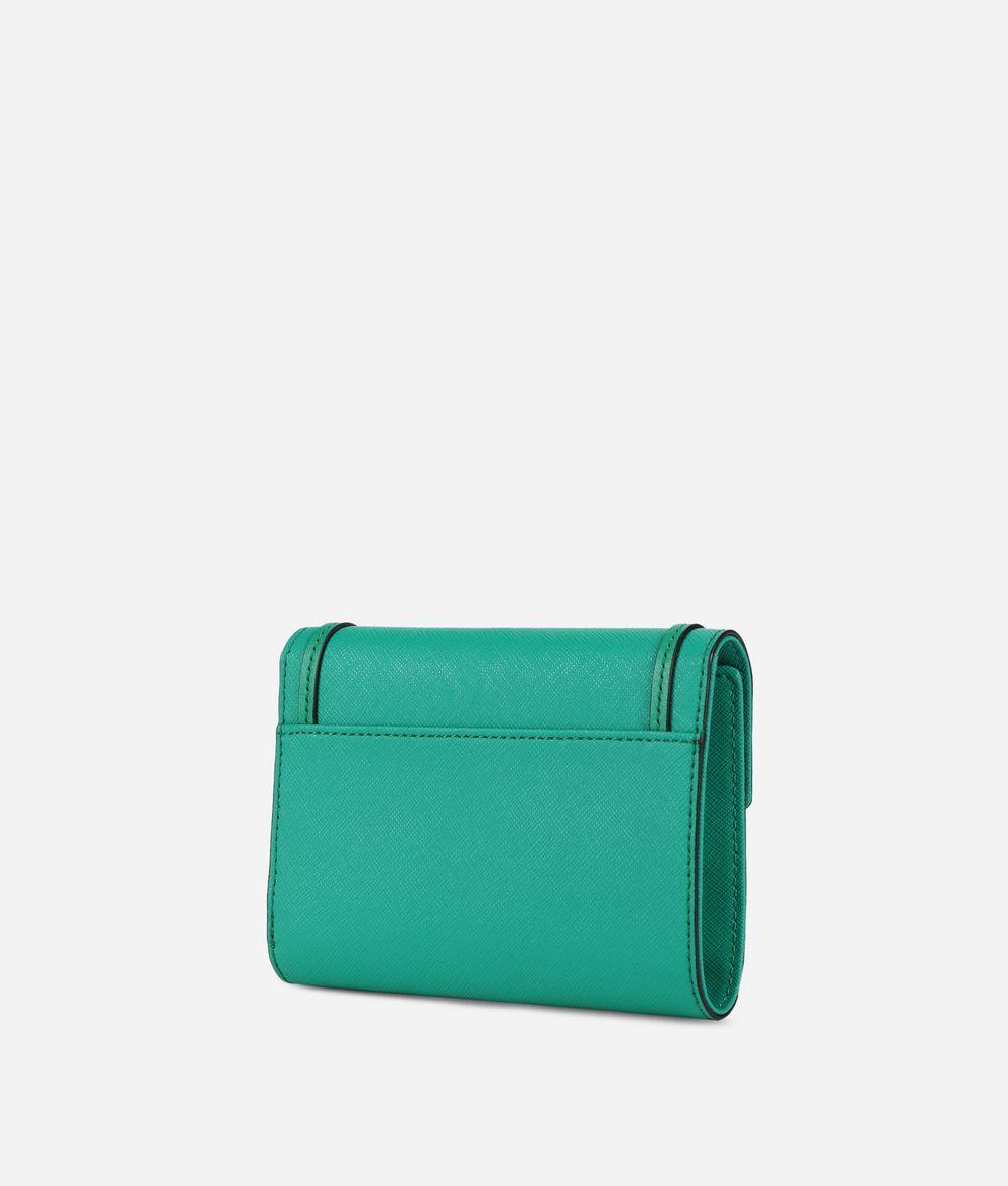 KARL LAGERFELD K/Rock Saffiano Wallet Wallet Woman d