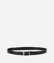 KARL LAGERFELD Leather Belt Box Belt Man r