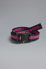 DSQUARED2 Acid Glam Punk Acid Tape Belt Belt Woman