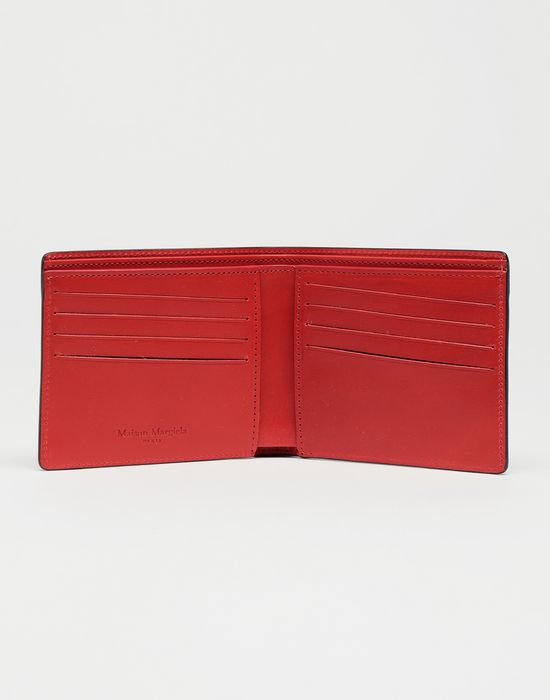 MAISON MARGIELA Brushed patent leather wallet Wallet [*** pickupInStoreShippingNotGuaranteed_info ***] d