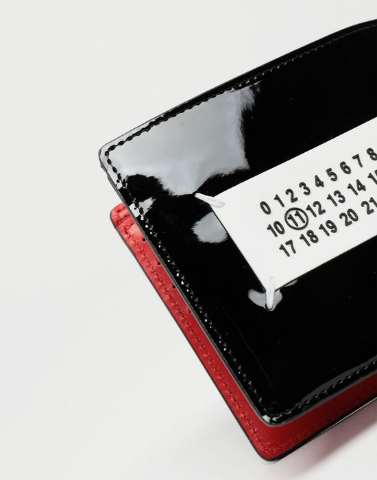 MAISON MARGIELA Brushed patent leather wallet Wallets [*** pickupInStoreShippingNotGuaranteed_info ***] e
