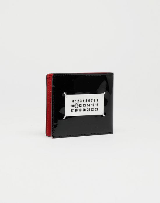 MAISON MARGIELA Brushed patent leather wallet Wallet [*** pickupInStoreShippingNotGuaranteed_info ***] r