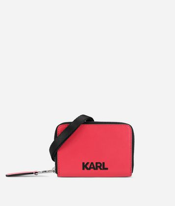 KARL LAGERFELD K/ATHLEISURE SMALL WALLET