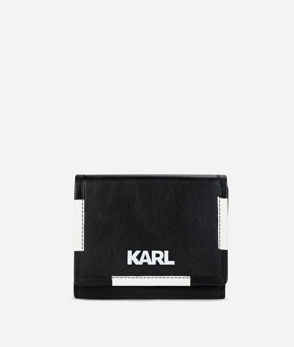 KARL LAGERFELD Mittelgroße K/Athleisure Geldbörse Brieftasche Damen f