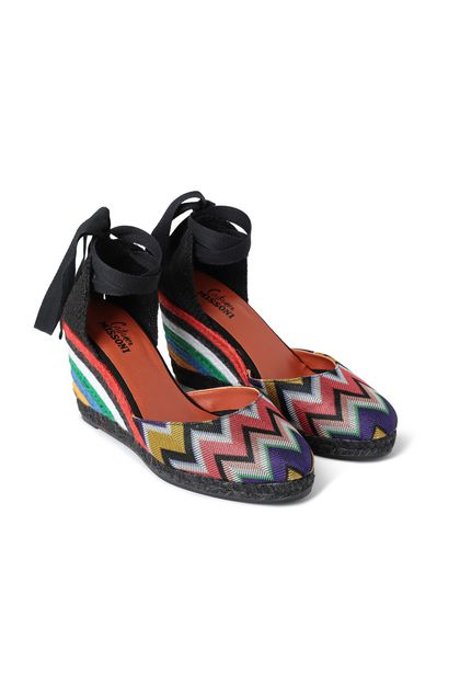 MISSONI Closed-toe slip-ons Black Woman - Front