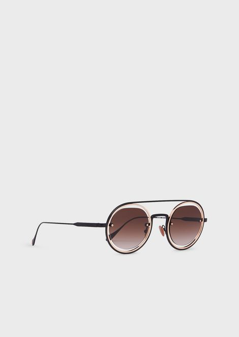 Round man sunglasses