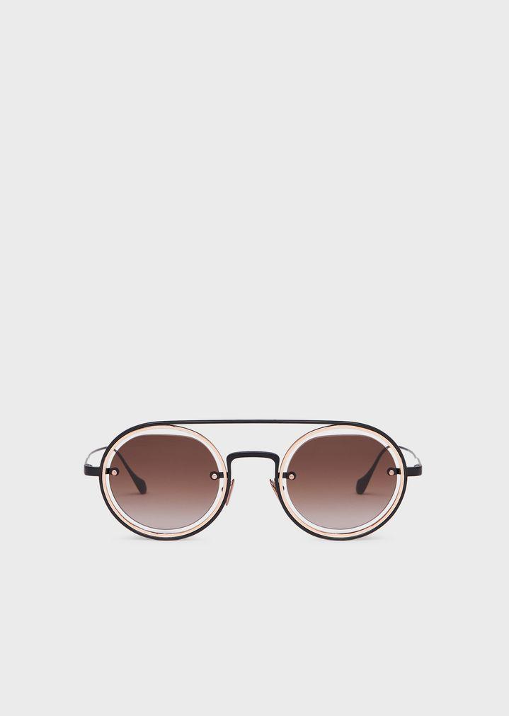 5665aef671bc Round man sunglasses | Man | Giorgio Armani