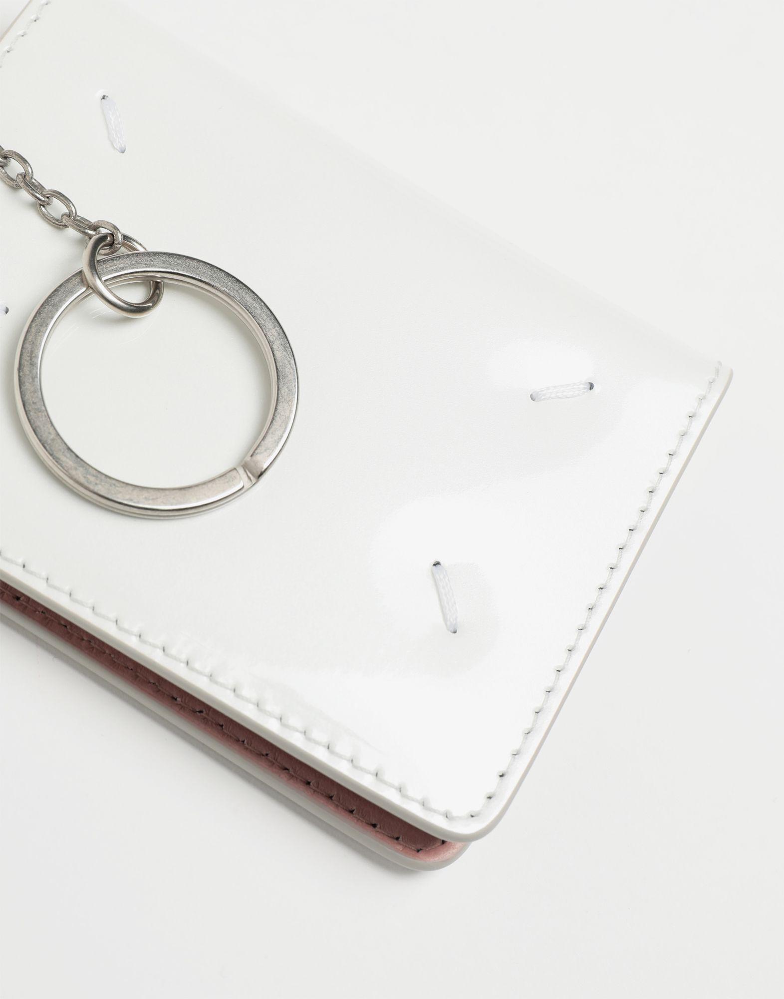 MAISON MARGIELA Keyring patent leather wallet Wallet Woman e