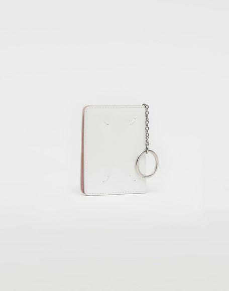MAISON MARGIELA Keyring patent leather wallet Wallet Woman r