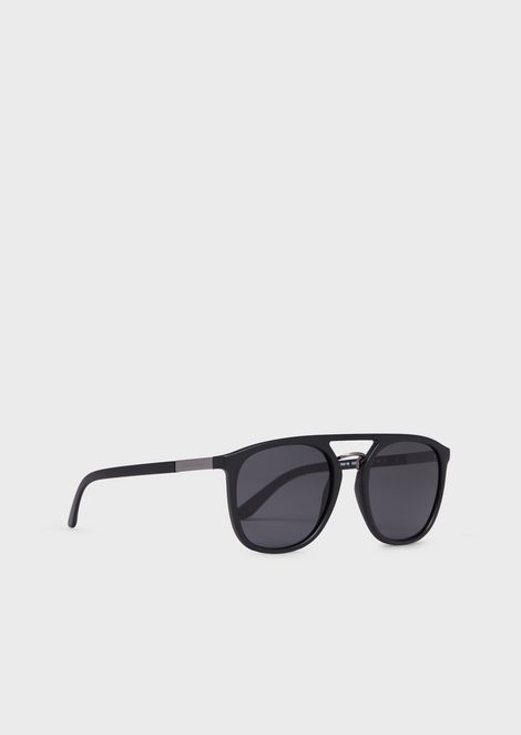Square man sunglasses