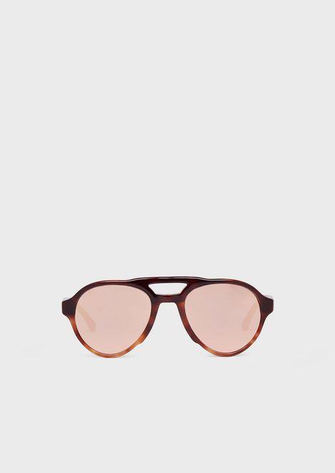 Pilot man sunglasses