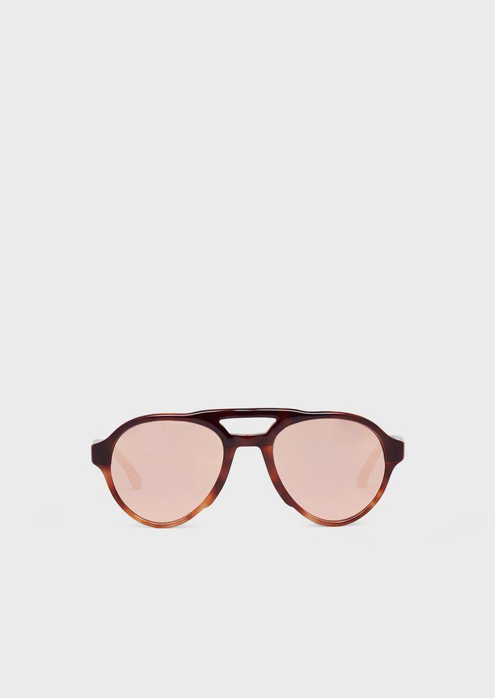 a2e4b868bb Gafas de sol piloto | Hombre | Emporio Armani