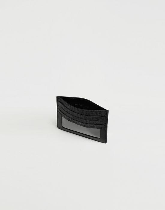 MAISON MARGIELA Décortiqué leather cardholder Wallet [*** pickupInStoreShippingNotGuaranteed_info ***] d