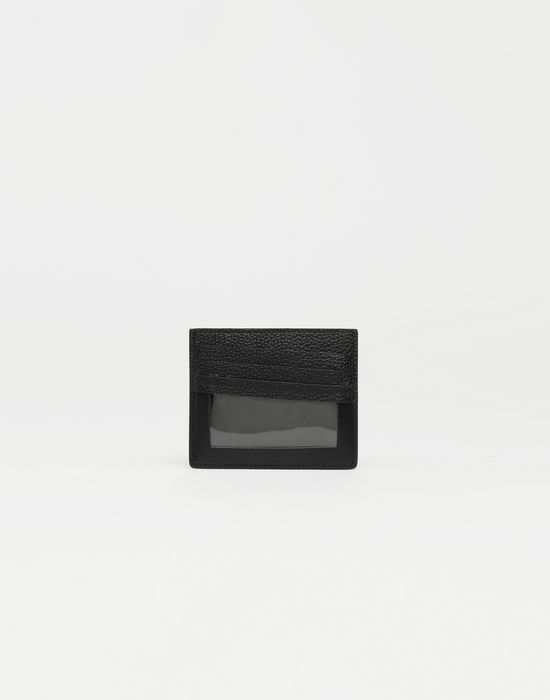 MAISON MARGIELA Décortiqué leather cardholder Wallets [*** pickupInStoreShippingNotGuaranteed_info ***] f