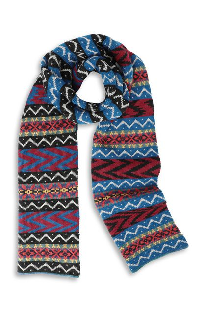 MISSONI Scarf Black Man - Back