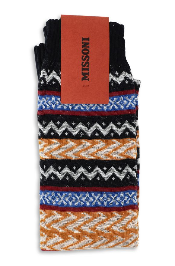 MISSONI Socks Man, Rear view