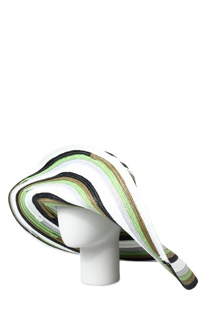 MISSONI MARE Beach Hat White Woman - Front