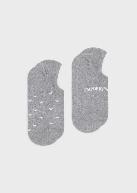 Set of two socks in blended cotton