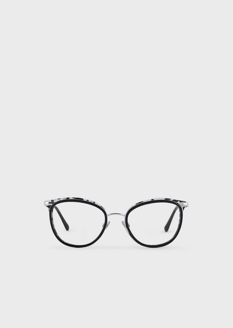 Cat-eye woman eyeglasses