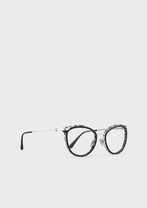 Cat-eye woman eyeglasses