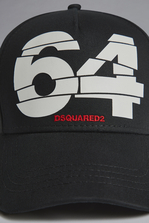 DSQUARED2 Bionic Sport 64 Baseball Cap Hat Man