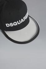 DSQUARED2 Dsquared2 Baseball Cap With PVC Peak Hat Man