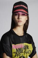 DSQUARED2 Dsquared2 Baseball Cap With PVC Peak Hat Woman