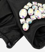 KARL LAGERFELD Sparkly Stones Fingerless Gloves 9_f