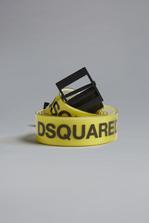 DSQUARED2 Bionic Sport Dsquared2 PVC Tape Belt Belt Man
