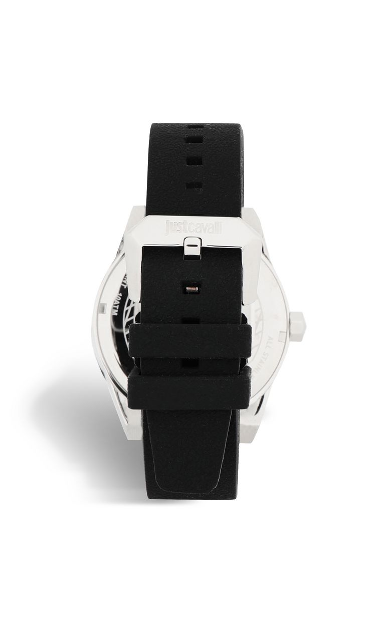 JUST CAVALLI Watch with silicone strap Watch Man e