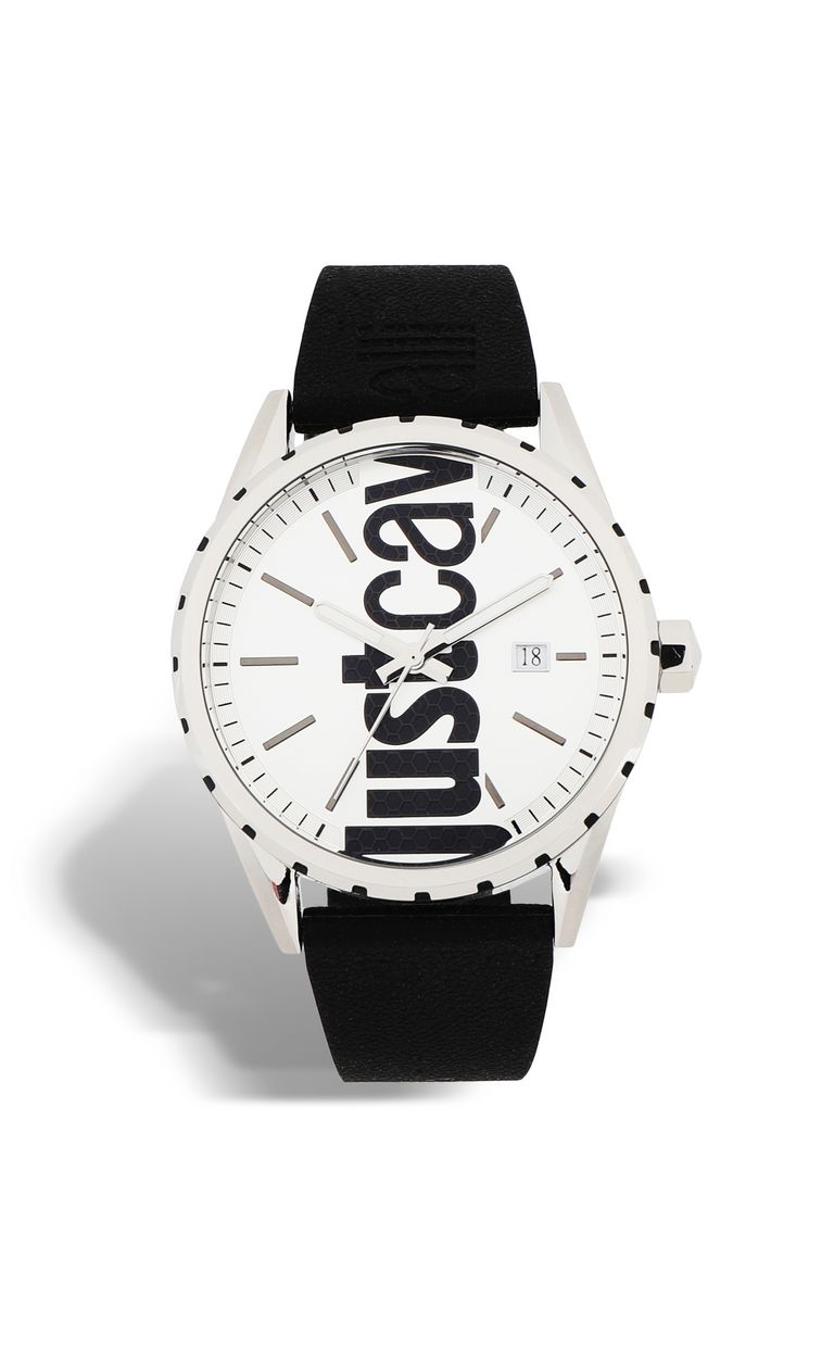 JUST CAVALLI Watch with silicone strap Watch Man f