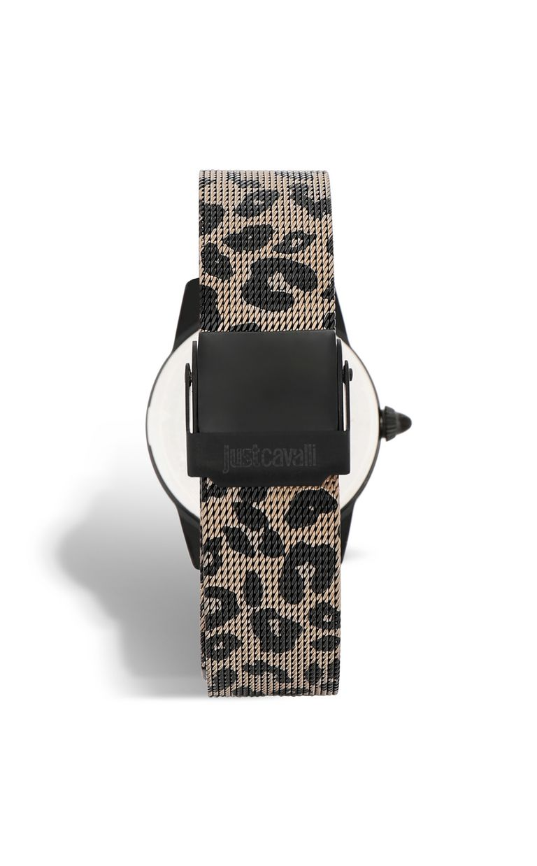 JUST CAVALLI Watch with leopard-print strap Watch Woman e
