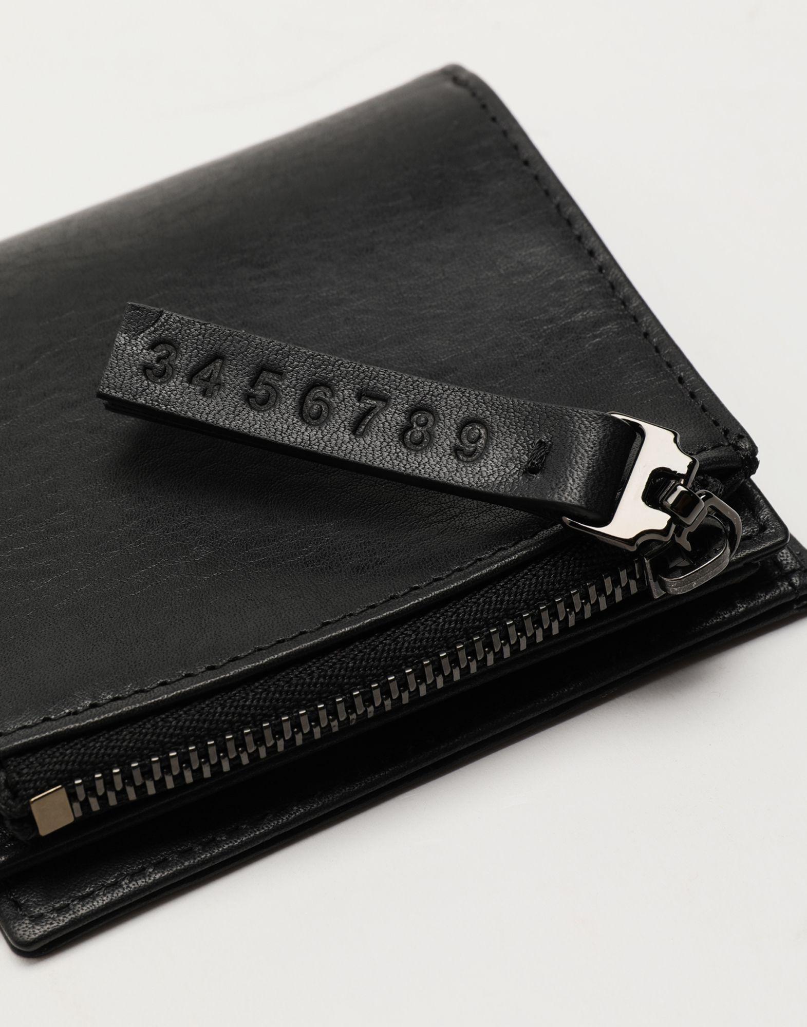MAISON MARGIELA Folded leather wallet Wallet Man a