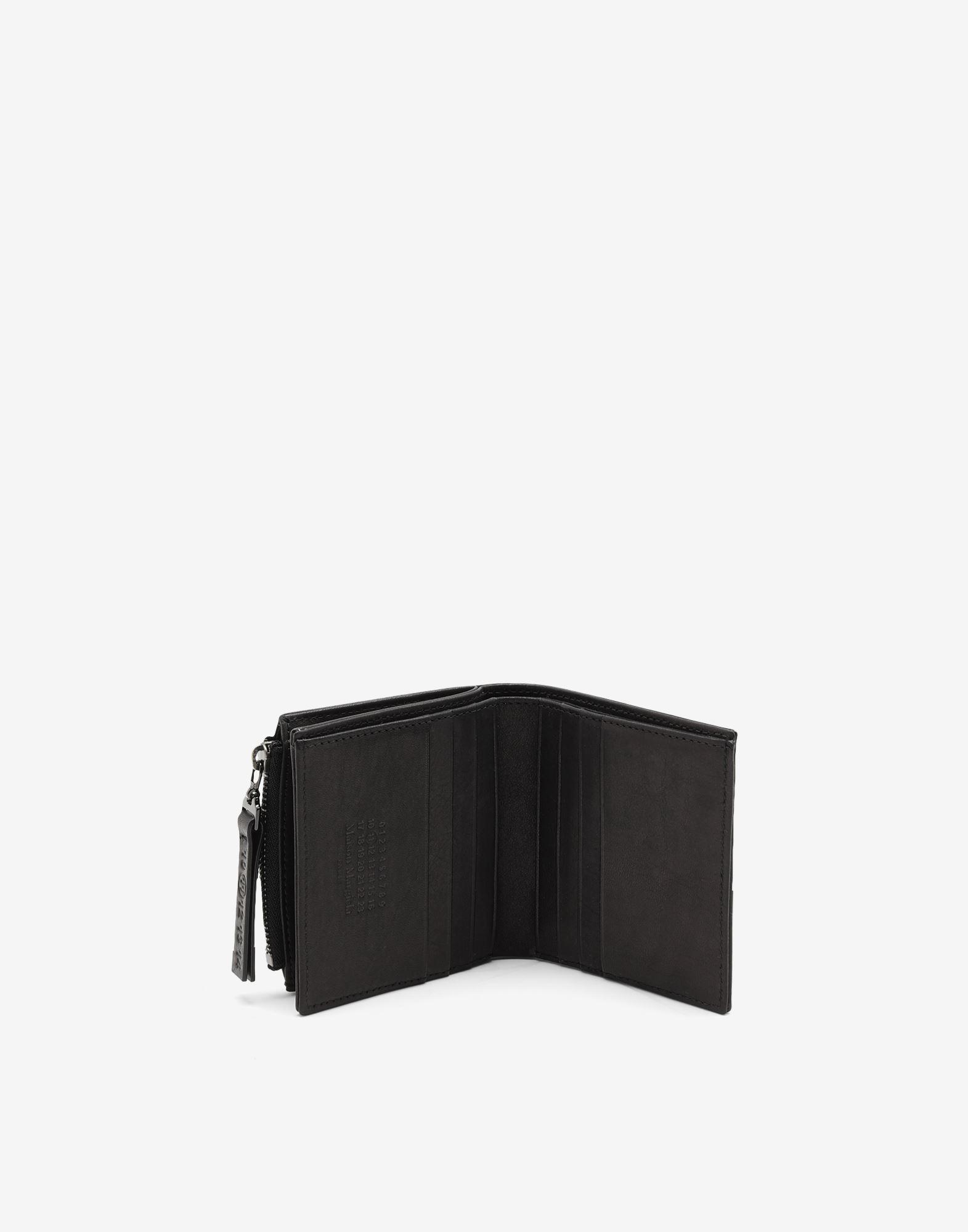 MAISON MARGIELA Folded leather wallet Wallet Man d