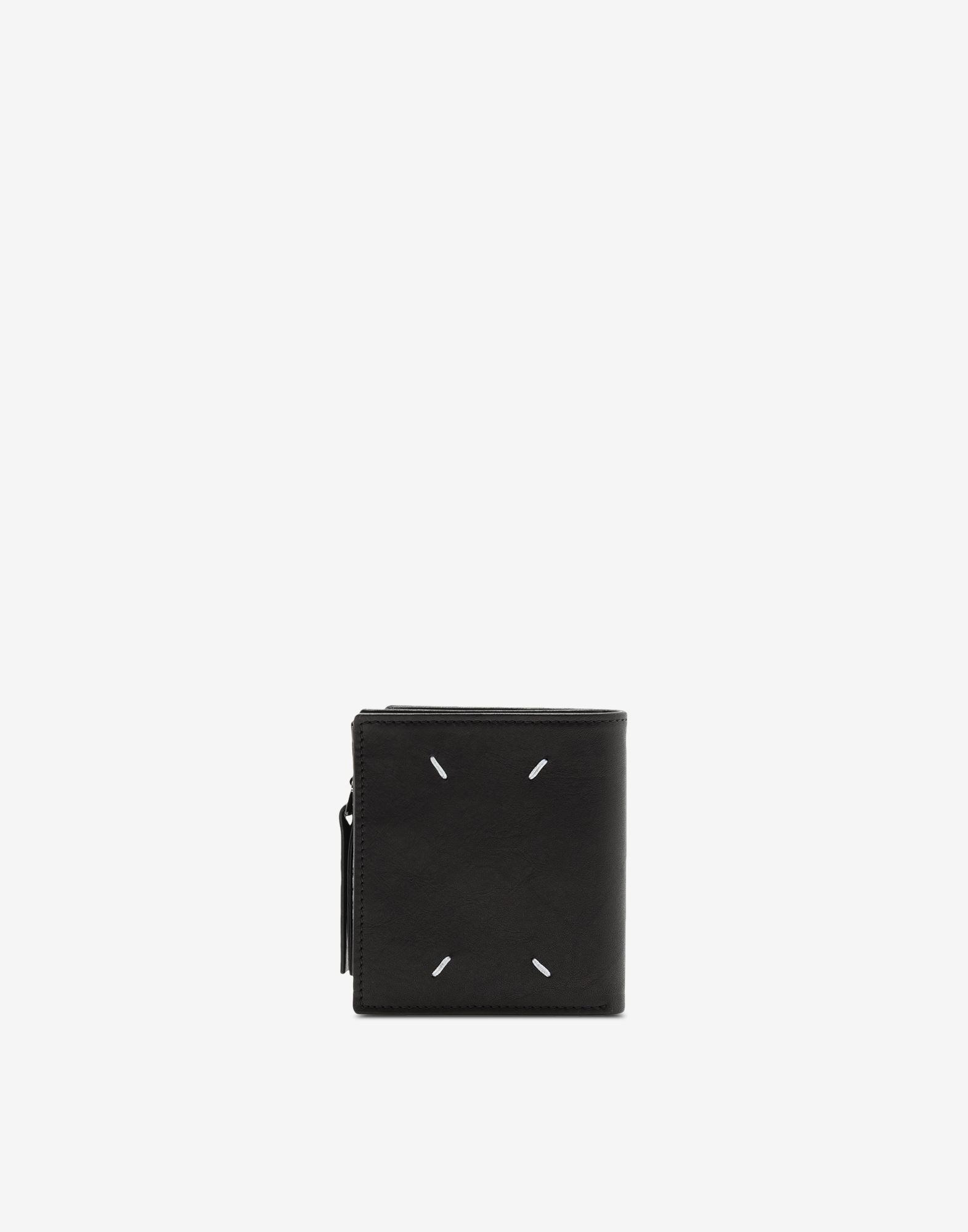 MAISON MARGIELA Folded leather wallet Wallet Man r