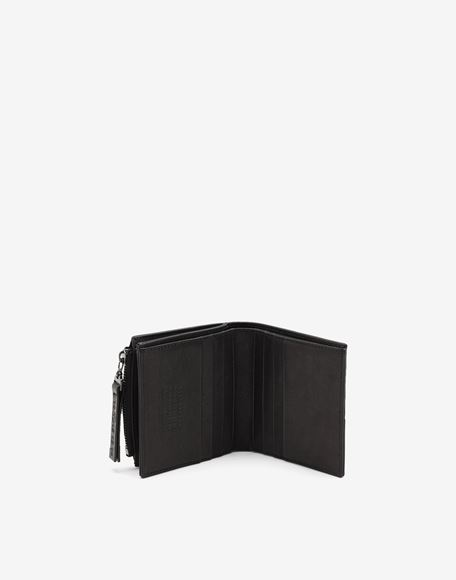 MAISON MARGIELA Folded leather wallet Wallets Man d