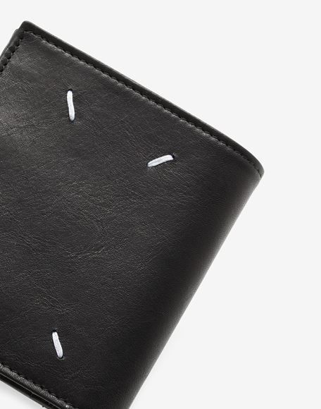MAISON MARGIELA Folded leather wallet Wallet Man e