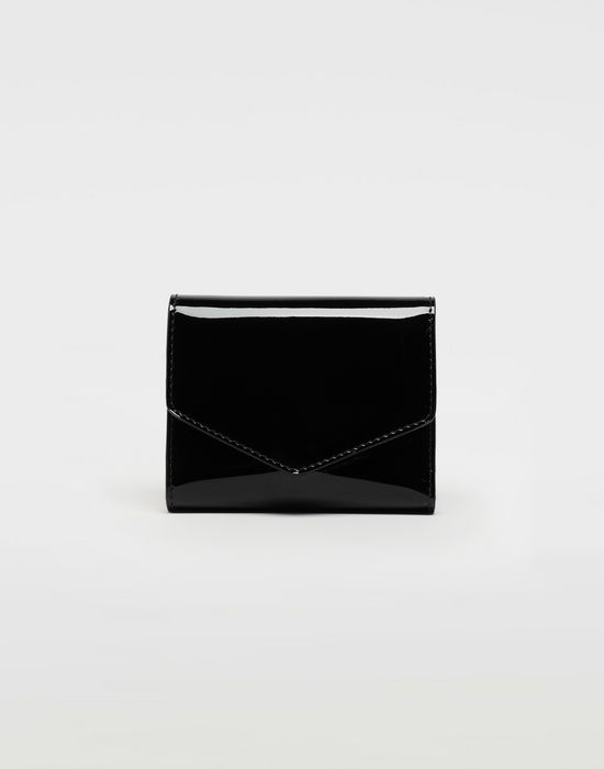 MAISON MARGIELA Patent leather wallet Wallet [*** pickupInStoreShipping_info ***] f