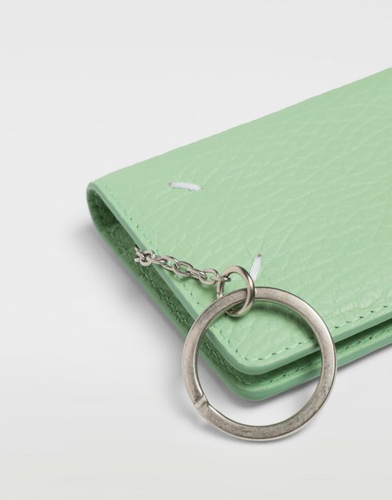 MAISON MARGIELA Textured leather wallet Wallet [*** pickupInStoreShipping_info ***] a